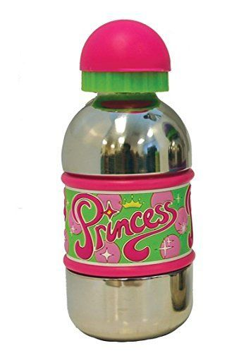 John Hinde Princess Stainless Steel Drink Bottle >>> See this great product.