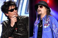 KID ROCK VS. TOMMY L - http://downloadfreesongs.net/blog/kid-rock-vs-tommy-l/ -  KID ROCK VS. TOMMY LEE: When two hard-rock personalities marry the same woman (Pamela Anderson) and see each other at the 2007 MTV Video Music Awards, pleasantries are not likely to be passed. Kid Rock and Tommy Lee got into fisticuffs, and later, Rock said that his relationship with the Motley...