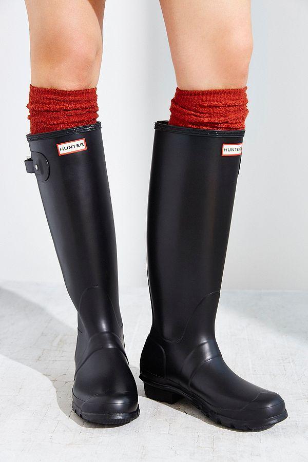 Hunter Original Tall Rain Boot Hunter Tall Rain Boots Rain