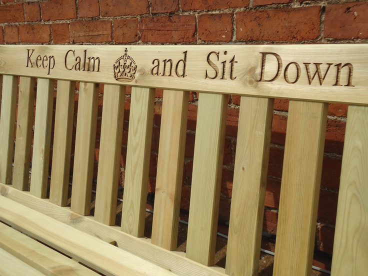 Darwin Bench - Laser Engraving Available at Benches.co.uk
