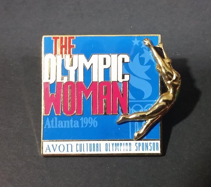 "1996 Atlanta Olympic Games ""The Olympic Woman"" ""Avon Cultural Olympic Sponsor"" Pin https://treasurevalleyantiques.com/products/1996-atlanta-olympic-games-the-olympic-woman-avon-cultural-olympic-sponsor-pin #1990s #90s #Nineties #Atlanta #Georgia #USA #UnitedStates #Olympics #Games #Avon #Cultural #Sponsor #Culture #Woman #Sponsorship #Collectibles #Sports #Memorabilia #Pins"