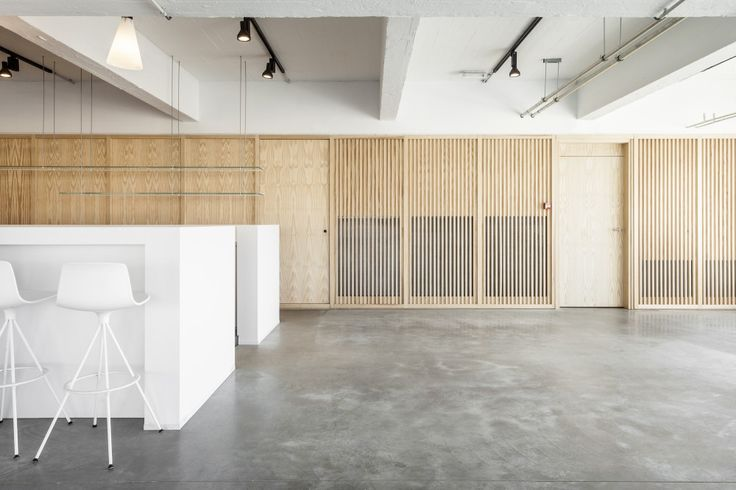 transparency with wood slats