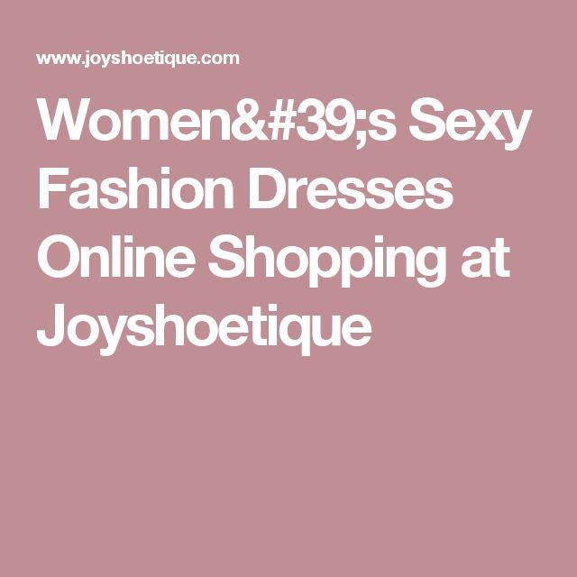 Women's Sexy Fashion Dresses Online Shopping at Joyshoetique