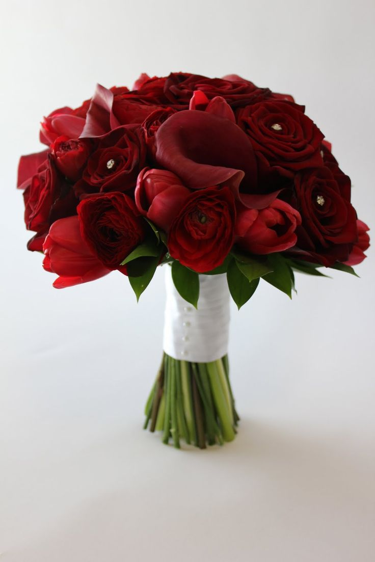 17 best images about wedding flowers floral decor on for Wedding bouquet tulips and roses