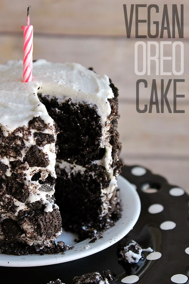 Vegan OREO Cake Recipe- Experience the classic cookie in cake form, no cookies needed.