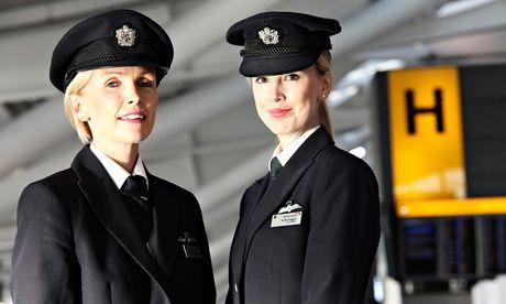 Female pilots: a slow take-off