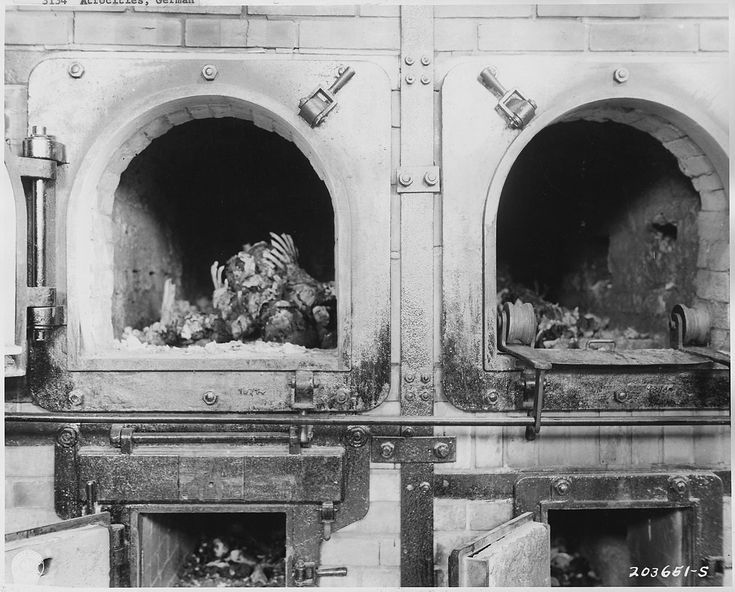 The ovens that cooked jews alive