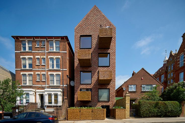 Step inside the perforated-brick Barrett's Grove, designed by Amin Taha + Groupwork. | Photo: Tim Soar | Archinect