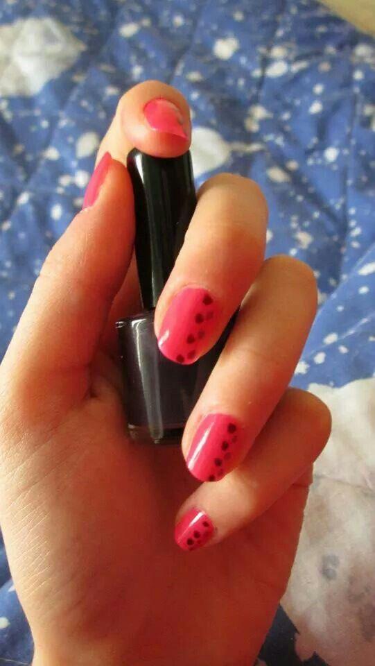 #ModE #me #roberta #unghie #nails #fuxia #pois #violet #viola  Seguimi, follow me: www.facebook.com/pages/ModE/40443306661391