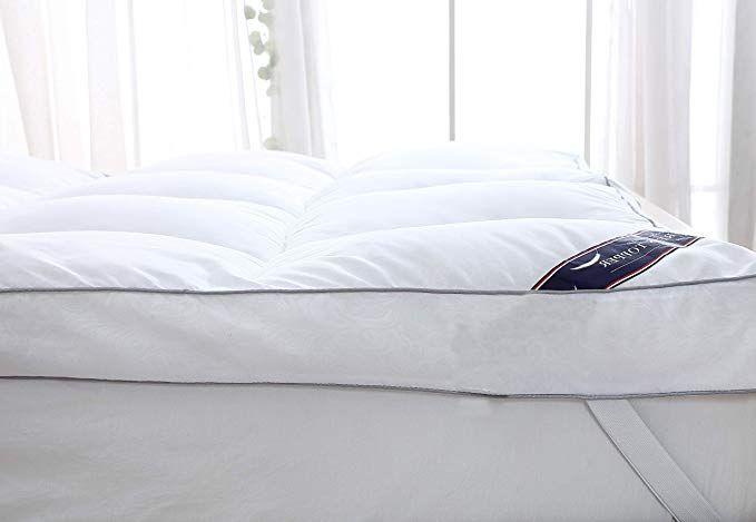 Queen Rose Mattress Topper Queen Plush Pillow Top Mattress Pad