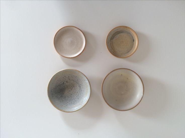 small matt pastel bowls