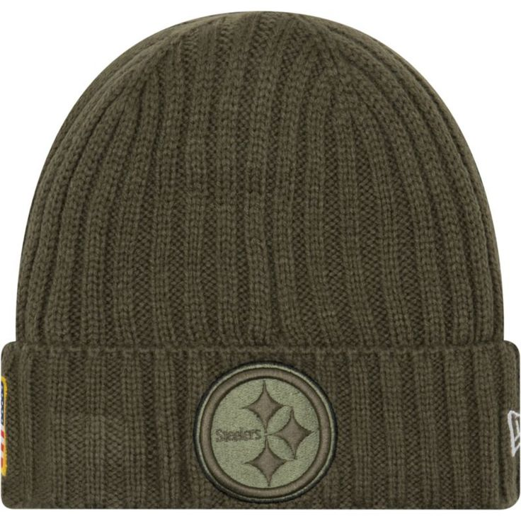 New Era Youth Pittsburgh Salute to Service 2017 Knit Hat, Kids Unisex, Team