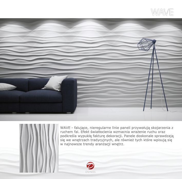Decorative panel: WAVE
