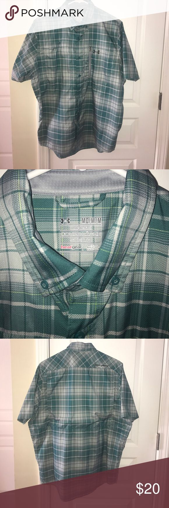 Under Armour men's shirt Never worn - Under Armour short sleeve button down! Looks great - perfect for warmer weather! Under Armour Shirts Casual Button Down Shirts