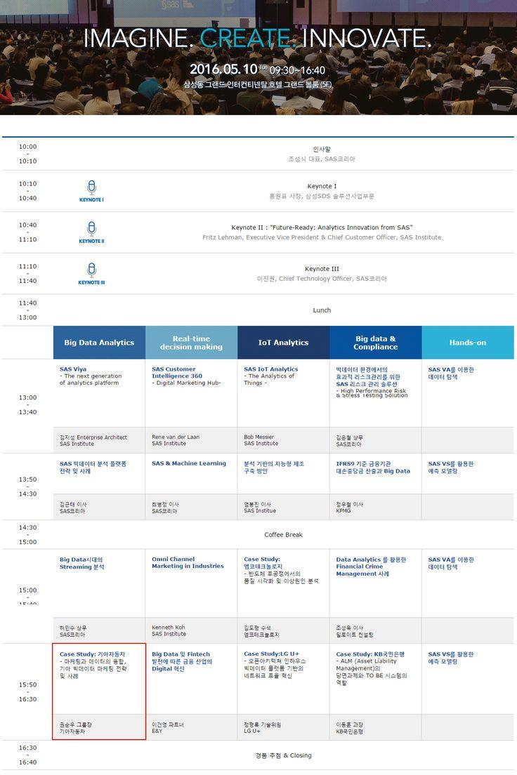 SAS Forum Korea 2016 - achorEmpire