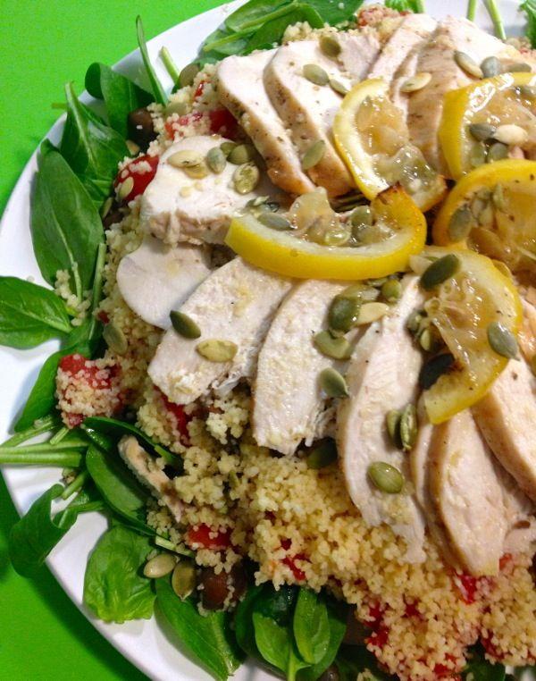 Oggi alla Prova del cuoco: Pollo al limone con cous cous e verdure