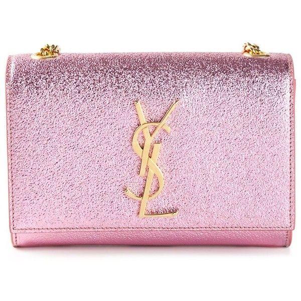 royal blue suede clutch bags - SAINT LAURENT \u0026#39;Monogramme\u0026#39; shoulder bag ($1,445) ? liked on ...