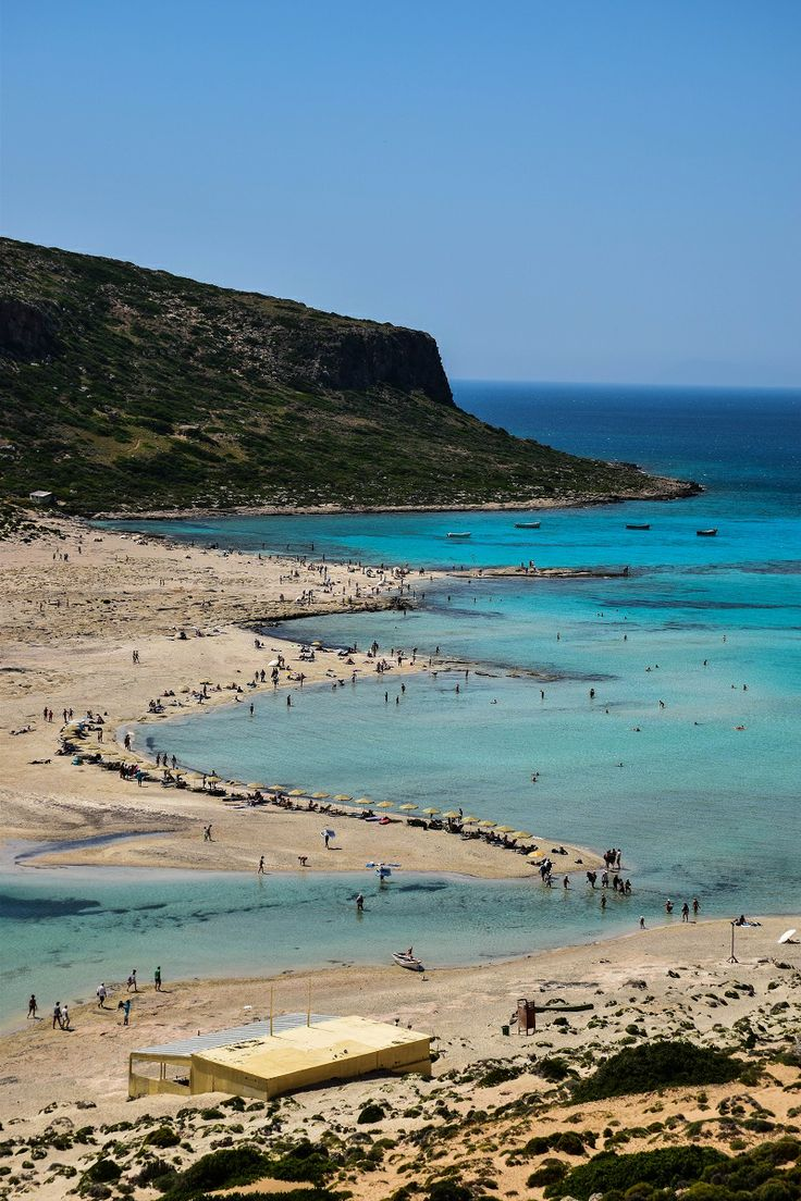 Balos Island - Crete, Greece #traveltoGReece