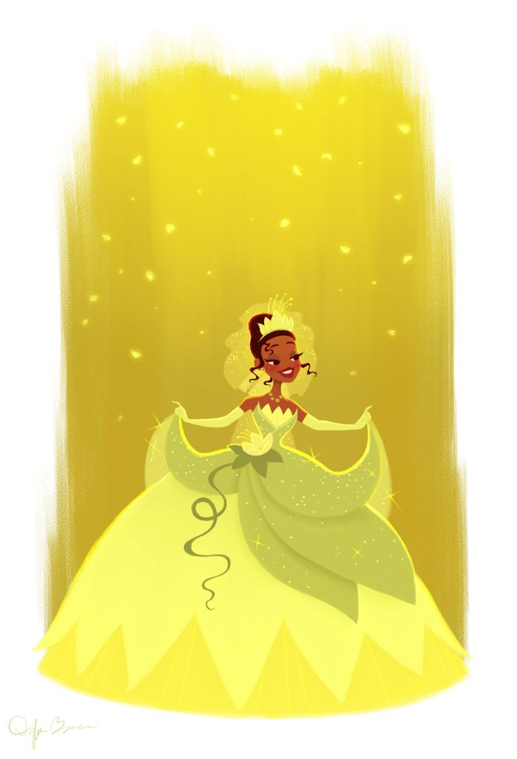 *Princess Tiana*  Prints & apparel of my work are available at http://society6.com/dylanbonner
