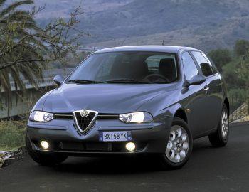Alfa Romeo 156 Sportwagon Worldwide (932B) '2002–03