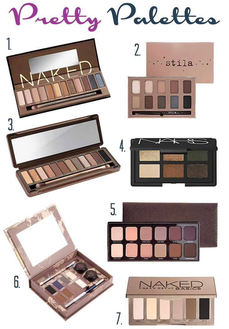 Pretty Palettes: 7 of the Best Eyeshadow Palettes to Invest In!