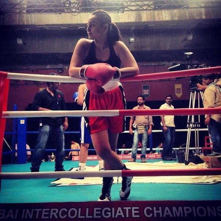 Boxer Sonakshi Sinha