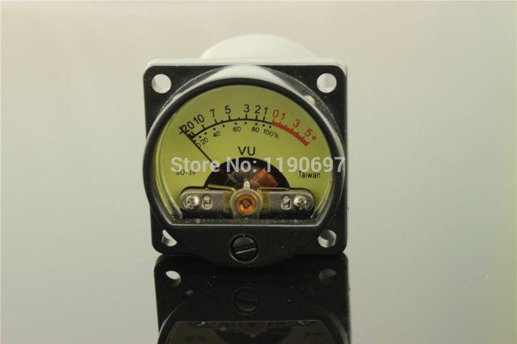 1 חתיכה טייוואן 500VU לוח VU Meter מטר רמת שמע דיוק גבוה 6-12 V רמת שמע עם חם תאורה אחורית משלוח חינם