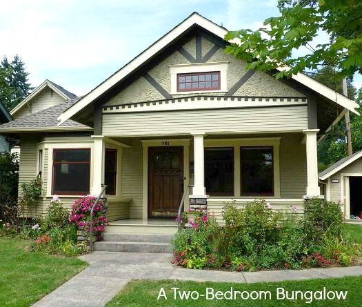 This small Craftsman-style bungalow in Corvallis, Oregon, was built in 1915.  2 bedrooms and 1,200 square feet