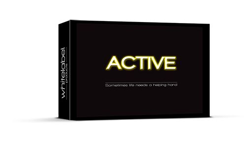 Energy supplement - Energy boost - Active  - €12.95
