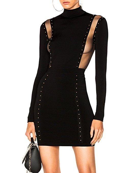 Friday Night Fever Bandage Dress