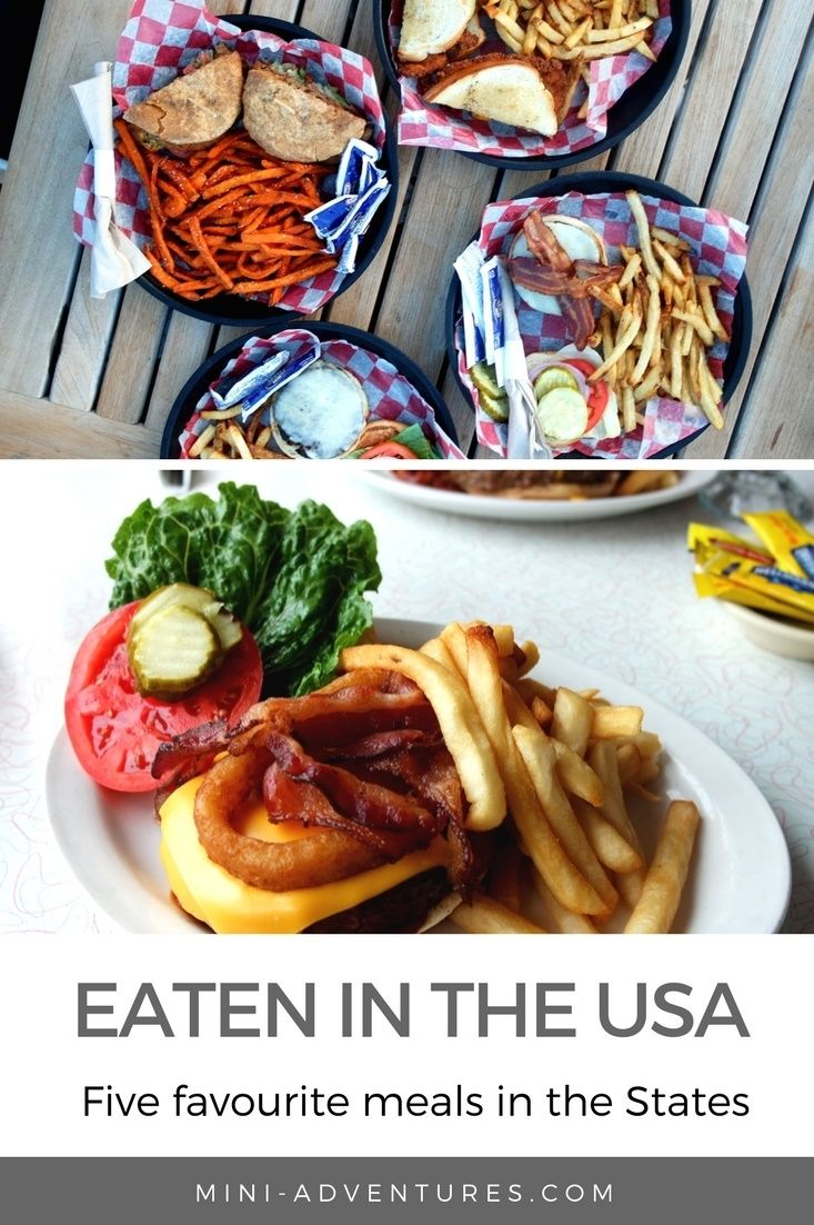 Whether you're heading East or West, here are five favourite things I've eaten in the USA so far!