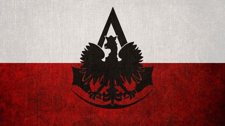 Assassin's Creed: Bureau of Poland Flag by okiir.deviantart.com