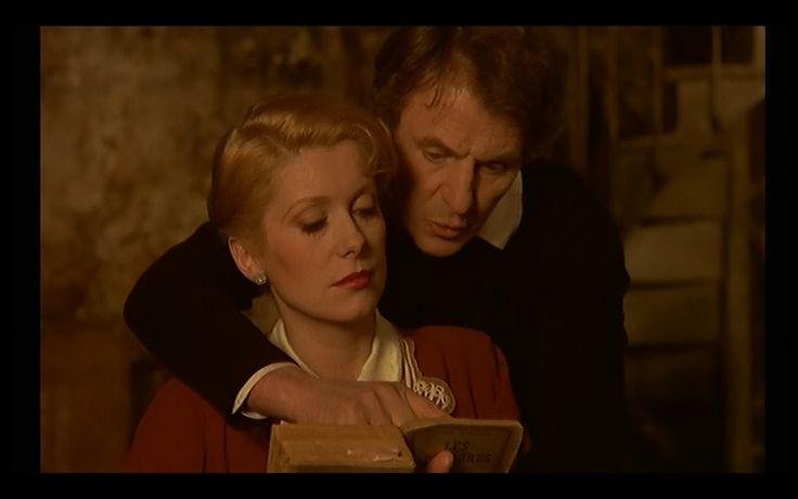 Marion Steiner (Catherine Deneuve) and Lucas Steiner  (Heinz Bennent) in 'Le dernier métro' (1980, F. Truffaut)