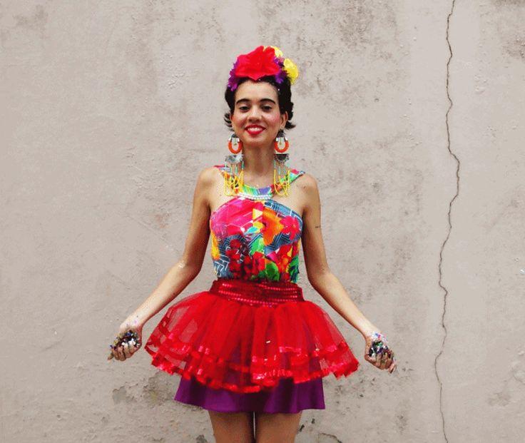 Tipo Assim: Carnaval e minha fantasia da Frida Kahlo por R$ 54