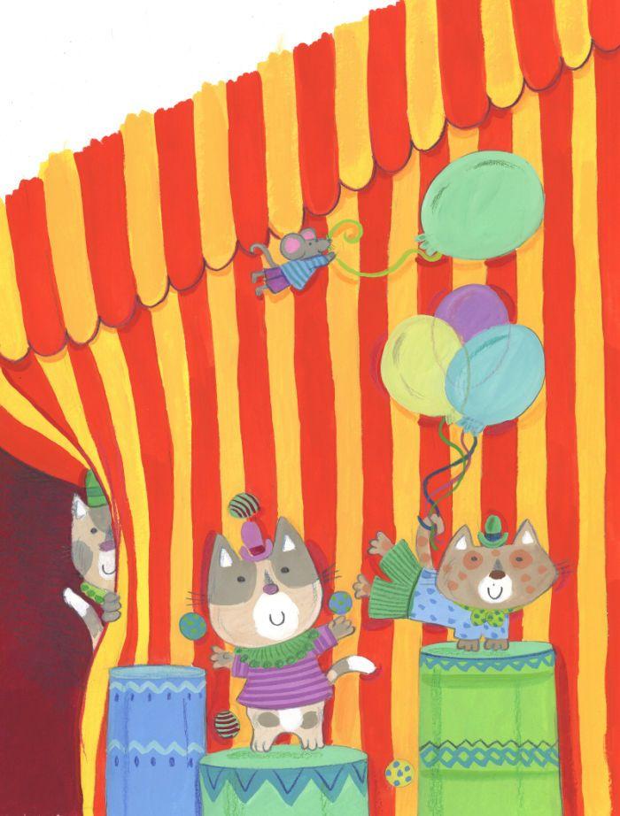 Kay Widdowson - The Circus Cats 2
