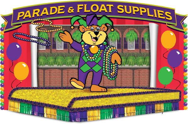 Parade float supplies ... where has this been for the last FOUR years!!!