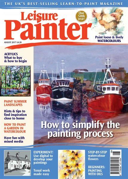 August 2017 Leisure Painter. Buy online, http://www.painters-online.co.uk/