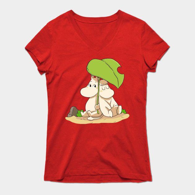 The Moomins Womens V-Neck T-Shirt