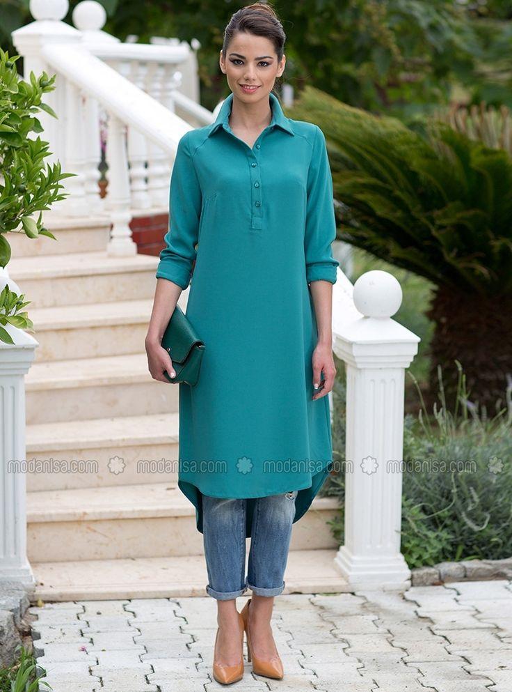 Perfect match of turquoise and denim. so lovely and comfy.  Turkuaz ve denim uyumu...her zaman sade ama gosterisli de ayni zamanda