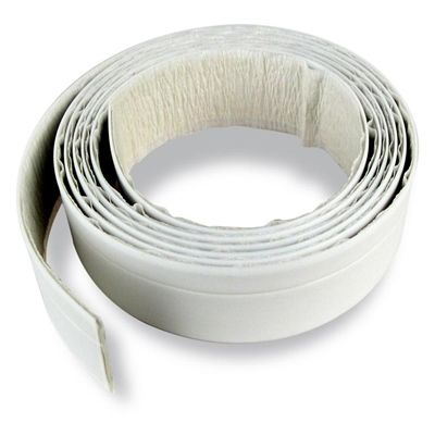 Seal-A-Crack White 1-1/4in x 5.5ft Tub And Floor Waterproof Adhesive Sealer