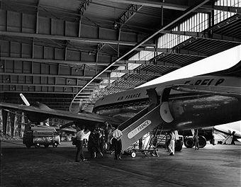 Flughafen Tempelhof 1958