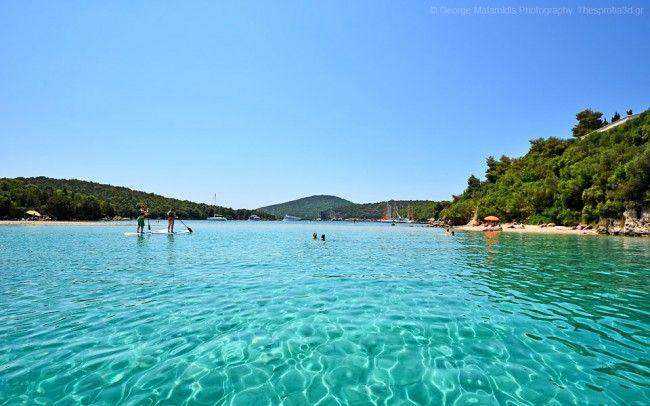 Η παραλία Μπέλλα Βράκα ενώνει τα Σύβοτα με το νησάκι Μουρτεμένο- ένας επίγειος παράδεισος! | InfoKids