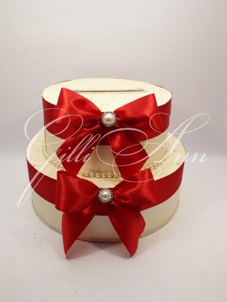 Свадебная казна для денег Gilliann Pearl Cake BOX043, http://www.wedstyle.su/katalog/anniversaries/wedding-box-money, wedding box