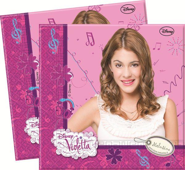 Violetta : Tovaglioli Violetta Procos 33x33 20pz