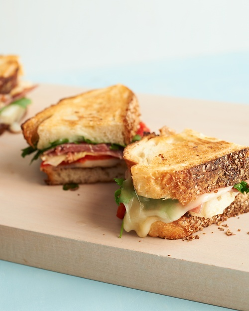 ... cheese and golden-brown bread, it's a grilled cheese in our book