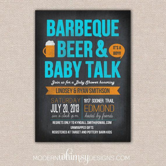 bbq beer bbq baby talk theme shower bbq baby talk baby shower