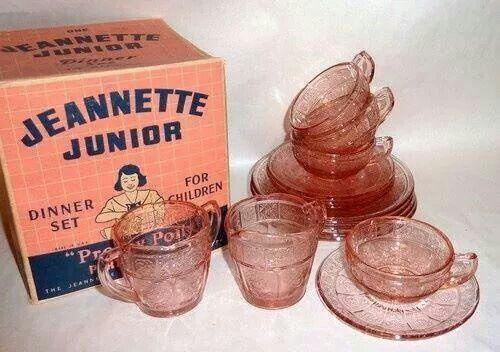Jeannette Junior - Dinner Set For Children - Pretty Polly Party Dishes | Cherry…