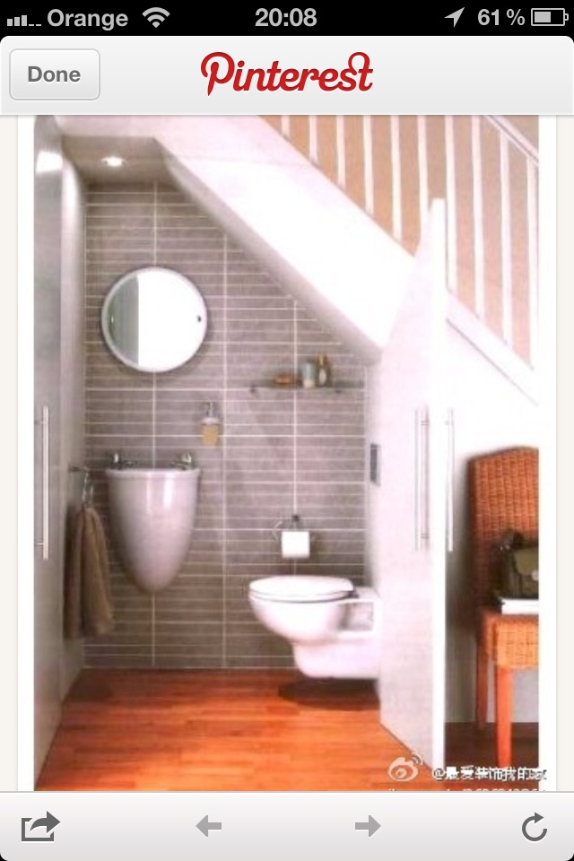14 Best Open Plan Images On Pinterest Under Stairs Bathroom Under Stairs And Creative Ideas
