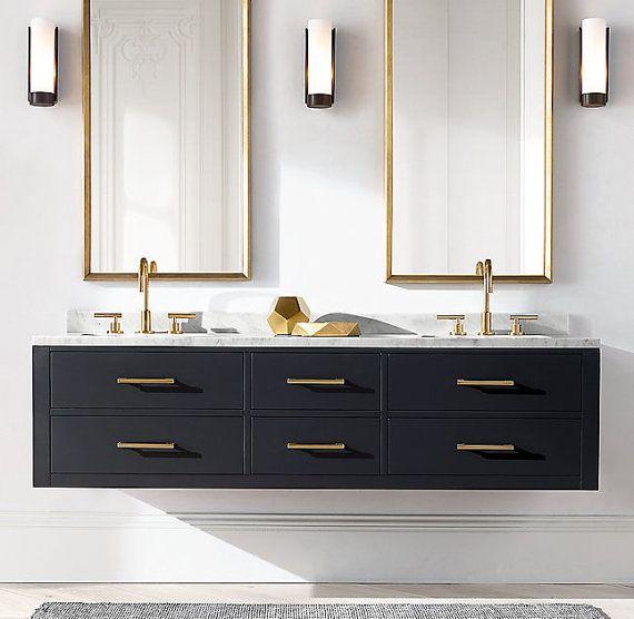 1000+ ideas about Badezimmer Schwarz on Pinterest | Tiny bathrooms ...