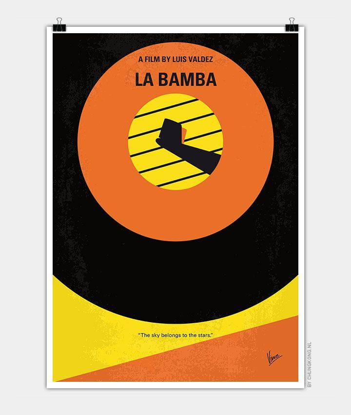 Chungkong, La bamba, Minimal Movie Poster
